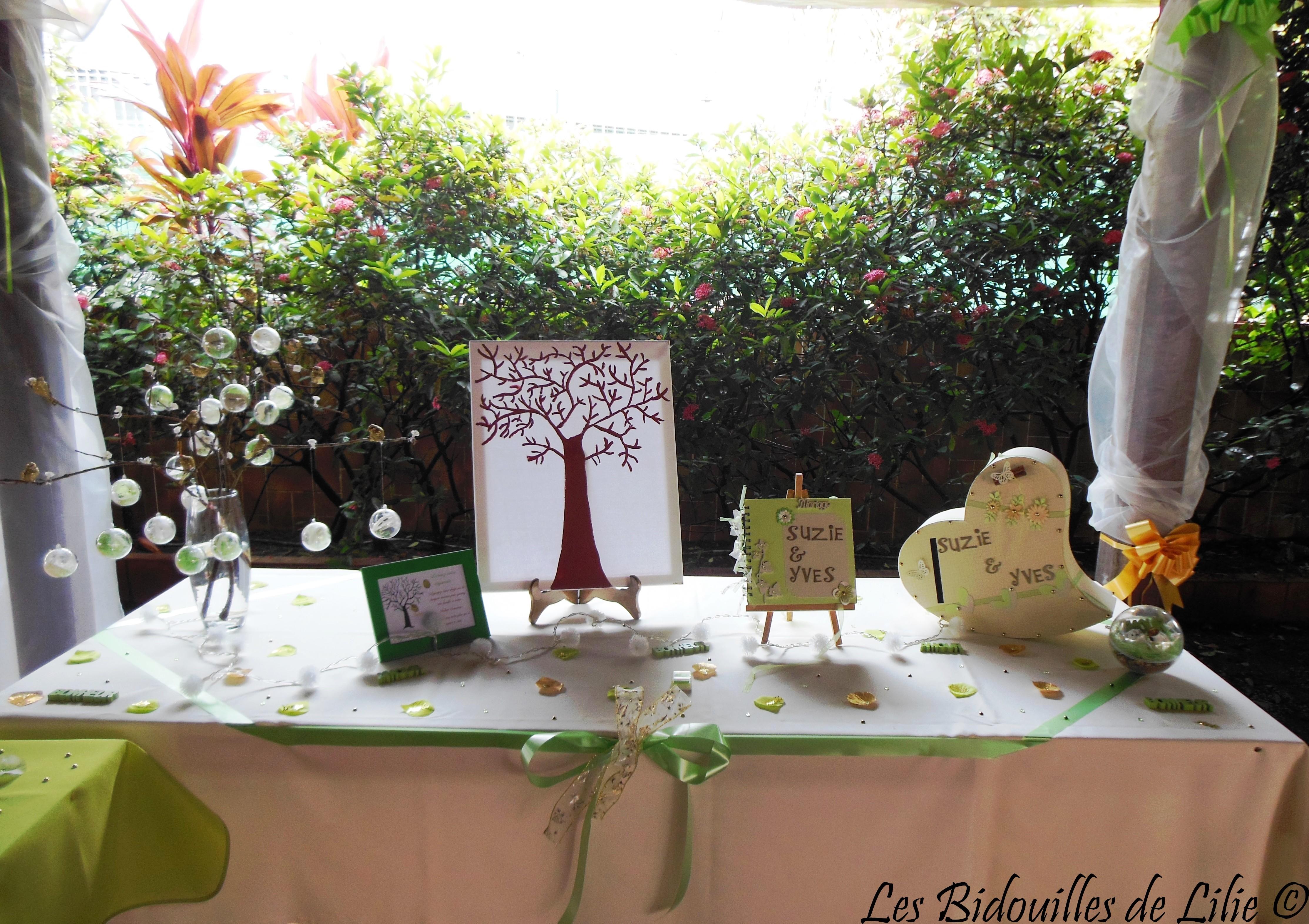 livre d or urne arbre empreintes et d co mariage les bidouilles de lilie. Black Bedroom Furniture Sets. Home Design Ideas